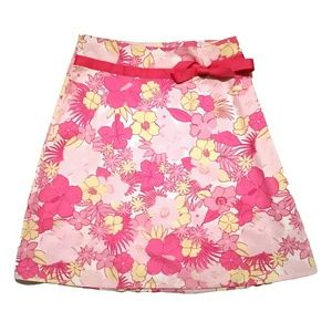 Dresses & Skirts - Hibiscus Floral A-line Skirt